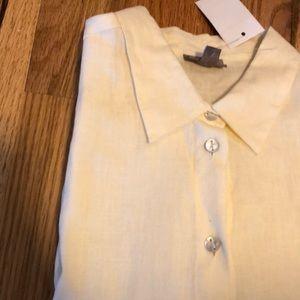NWT J. Jill Linen Shirt